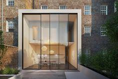 Rahmenlose Schiebefenster - Minimalfenster cero