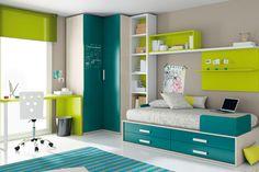 Dormitorio juvenil |
