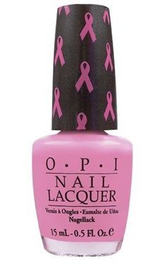 Beautiful candy shades featuring ribbon motif on the brush holder from OPI