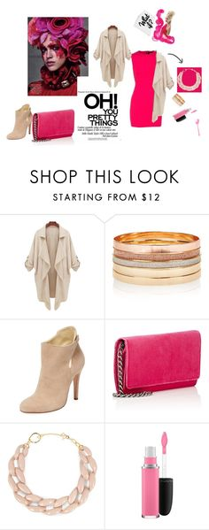 """""""PinkTime"""" by lamija2015 ❤ liked on Polyvore featuring Dsquared2, Accessorize, Sarah Flint, Barneys New York, DIANA BROUSSARD and MAC Cosmetics"""