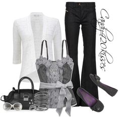 """greys"" by candy420kisses on Polyvore"
