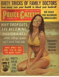 The National Police Gazette October 1971