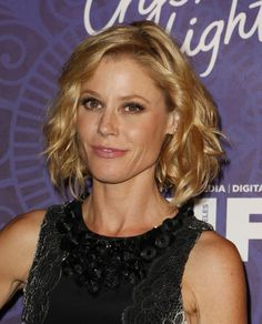 Mid-Length Wavy Hairstyle by Julie Bowen