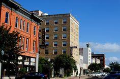 La Salle Hotel in Historic Downtown Bryan Texas