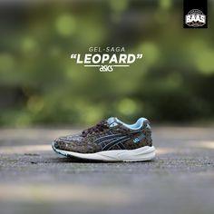 "Asics Gel-Sage ""Leopad"" | Fresh from Asics! | www.sneakerbaas.nl | #Asics #Gel #Leopard #Baasbovenbaas"