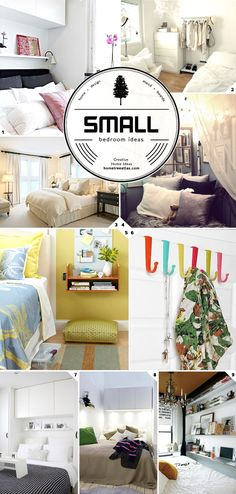 Design Tips: Small Bedroom Ideas