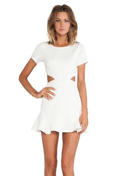 057b89df3d Shop for Lovers + Friends Lovers + Friends Eternal Dress in Ivory at  REVOLVE. Free day shipping and returns