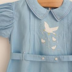 $35 US Baby and Toddler cotton rompers. Sizes 3 mos- 4T. Original: Vintage appliqued and embroidered baby boy romper.