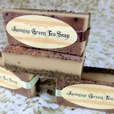 DIY Jasmine Green Tea Melt and Pour Soap Recipe