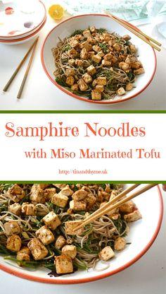Shallot-Marinated Tofu With Miso Dipping Sauce Recipe — Dishmaps