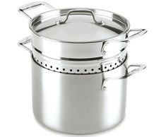 Lagostina Q55572 Axia Tri-Ply Stainless Steel Dishwasher Safe Pastaiola Set Cookware, 6-Quart, Silver *** More info could be found at the image url.