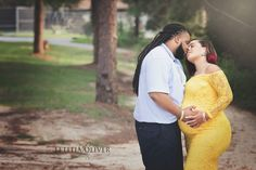 Maternity session yellow maternity gown Maternity Gowns, Maternity Session, Couple Photos, Yellow, Couples, Photography, Couple Shots, Maternity Dresses, Photograph
