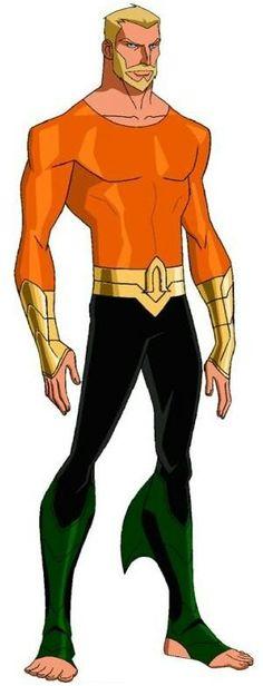Aquaman from Young Justice Aquaman Dc Comics, Dc Comics Art, Fun Comics, Marvel Dc Comics, Young Justice Characters, Dc Comics Characters, Comic Character, Character Design, Manga Anime