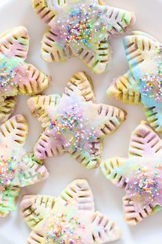 Vitamix Rainbow Pop Tarts - CommuniKait