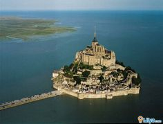 Mont Saint-Michel Rocky tidal island, France World Heritage Sites in France, Spread : 247 acres. iJiya TAG :8236141