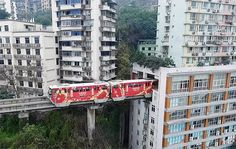 China has its own way of doing things! Recently, in the city of Chongqing, located towards the South-East of the country and has a population of over 49 mil