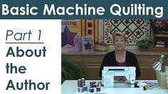 Machine Quilting The basics & beyond - YouTube