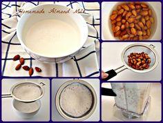 Homemade Almond Milk Recipe!!!