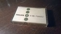Philips C-120 Compact Cassette -  **Vintage Audio Cassette from 1966-69**
