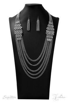 FB Jewels Solid Hammered Crescent Metal Necklace And Earring Set Faux Suede Bib With Natural Stone