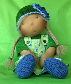 waldorf doll - She is so cute! #waldorf doll