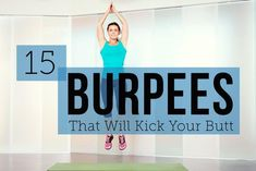 15 Burpee Variations That Will Kick Your Butt #workout #fitness #health
