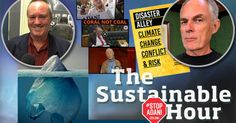 Joining us in the sustainable studio on 21 June 2017: David Spratt, co-author of the new report 'Disaster Alley: Climate change, conflict and risk', for a talk about the publication and a new Senate inquiry, and as Plastic Free July approaches, Robert Skehan... #climatechange #climateemergency #nonewcoal #stopadani