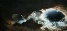 Karl Wilhelm Diefenbach (Born was a renowned German painter and radical social reformer. Early on Diefenbach attended the Munich Academy of Art and was deeply inspired by the works of fellow symbolist and Swiss painter Arnold Bocklin. Moonlight Painting, Russian Painting, Pre Raphaelite, Romanticism, Old Master, Dark Art, Les Oeuvres, Light Colors, Art Nouveau