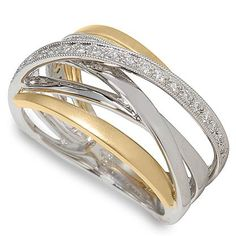 ultra diamonds ring designiers | Peter Lam Diamond Orbit Ring in Two Tone Gold
