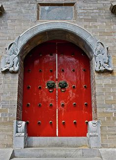Imperial door China...like i said, i have a thing with doors