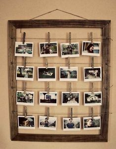 diy photo wall ideas without frames photo wall idea vintage photo frame diy wall picture frame ideas Home Projects, Home Crafts, Diy Home Decor, Room Decor, Diy Crafts, Geek Crafts, Diy Interior, Interior Decorating, Decorating Ideas