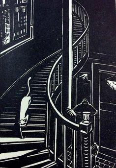 Frans Masereel, Landschaften und Stimmungen: 60 Holzschnitte (Munich: K. Wolff, 1929).  cat