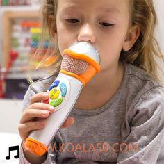 Micrófono de Mano con Luz y Sonido para Niños - 8,83 €  ¡Tu peque se sentirá todo un artista conel micrófono de mano con luz y sonido para niños!Fabricado en plásticoEfectos sonoros de público (aplausos y ovaciones)Melodías de...  http://www.koala50.com/regalos-para-ninos/microfono-de-mano-con-luz-y-sonido-para-ninos
