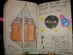 Draw something based on the moon