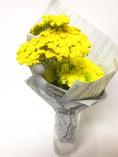 simple flower wrapping