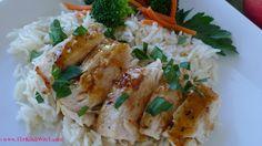 healthy chicken recipes, cider-glazed chicken, yummy weeknight chicken dinners