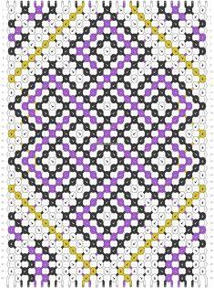 Normal friendship bracelet pattern added by Demcatears. Friendship Bracelet Patterns, Friendship Bracelets, Celtic Knot, Bracelet Making, Seed Beads, Knots, Crochet, Diy, Crafts