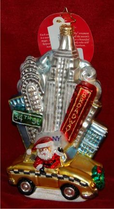 Destination Christmas Ornaments