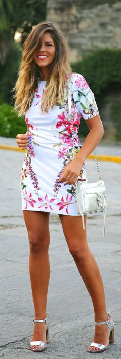 Daily New Fashion : Flower Print by TrendyTaste