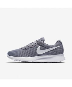 Nike Tanjun Wolf Grey White 812654-010 Mens Nike Air 2a8217f71b6