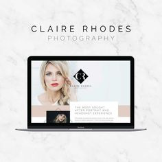 Claire Rhodes Photography: Brand and Showit Website Design