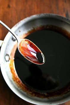 balsamic caramel sauce for steaks, chicken or pork (delicious on everything)