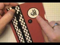 Such a great tutorial! Thanks to Dawn Olchefske for sharing! Easy Viewmaster Card using Stampin' Up! Spooky Bingo Bits