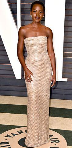 Lupita Nyong'o at Oscars After-Parties