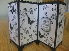 stampin up screen divider card - Google Search