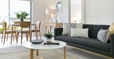 Our stunning charcoal sofa from @zanui grounds this light and bright lounge beautifully. Styled by Shift Property Styling #interiors #interior #interioraddict #realestate #hobart #interiordesign  #interiordesigner #interior123 #interiorstyling #home #homedecor #homeinspo #homewares #decoration #homestaging #hobart #tasmania #house #realestatestyling #propertystyling #propertystylist #propertypresentation #hobartrealestate #lounge #loungeroom #loungedecor #styledbyshift