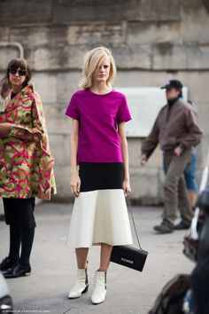 sewing inspiration (shapes and textures): Hanne Gaby