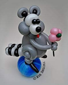 My Daily Balloon: 20th May - Raccoon