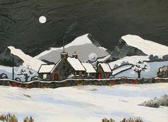 David BARNES - Hill Farm in Winter