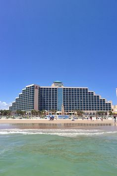 Hilton Daytona Beach Resort/Ocean Walk Village in Daytona Beach, FL Daytona Beach Hilton, Daytona Beach Resort, Need A Vacation, Vacation Trips, David Hill, Florida City, Ormond Beach, 30th Birthday, Beach Trip